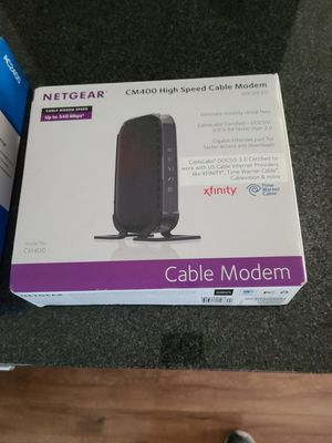 Net Gear Modem and Wireless adapter for Sale in Tracy, CA