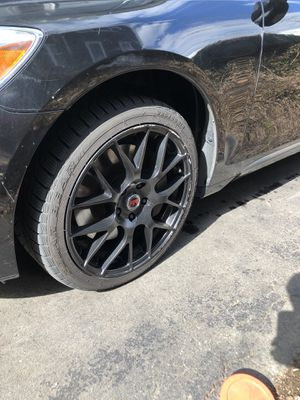 18 inch black rims for Sale in Quincy, MA