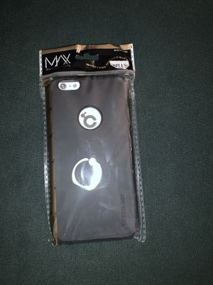 iPhone 6 Plus black case with ring holder for Sale in Moreno Valley, CA