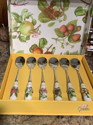 Pomona pastry forks, tea spoons, salad servers for Sale in Camp Hill, PA