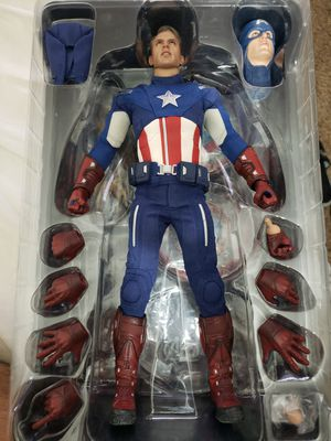 Hot toys captain America mms174, Avengers for Sale in Palmdale, CA