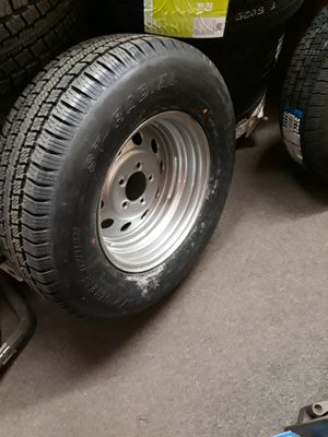 215/75/14 TRAILER RIM AND TIRE for Sale in Goose Creek, SC