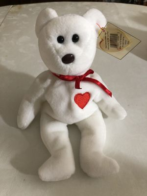 Valentino the bear beanie baby with some errors. for Sale in Clifton, NJ