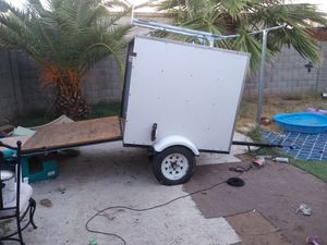 For sale small trailer 55 Alo largo 48 de alto NO TITTLE... for Sale in Phoenix, AZ