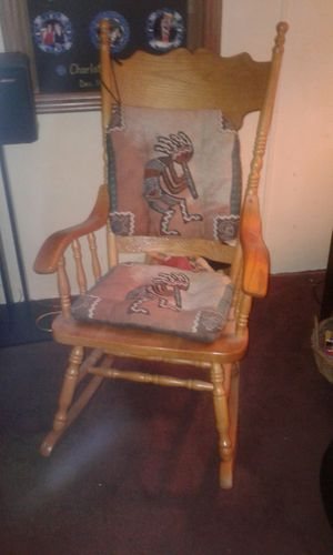 Wooden Rocking Chair $85 obo for Sale in Pegram, TN