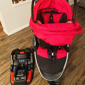 BriTrax Infant Car Seat Travel System for Sale in Houston, TX