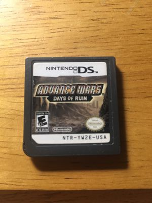Nintendo ds advance wars days of ruin game for Sale in Clermont, FL