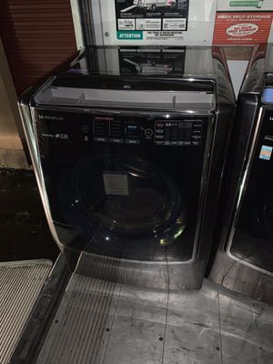 Fridge with ice maker and double French door hibachi stove touch screen washer and dryer with blue tooth dishwasher and microwave for Sale in Detroit, MI