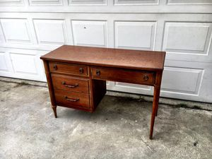 Mid century modern desk for Sale in Ontario, CA