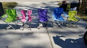 Folding chairs for Sale in Houston, TX