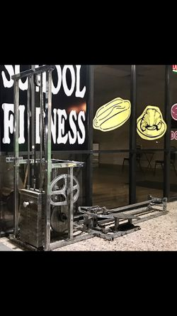 Old School Chrome Row Machine for Sale in Richardson,  TX