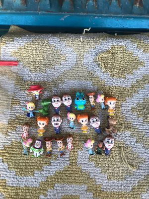 Toy story mini figures for Sale in Azusa, CA