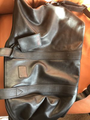 Leather Duffel Bag for Sale in Seattle, WA