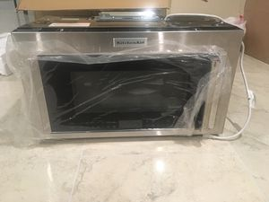 Kitchen Aid Microwave with vent for Sale in Moreno Valley, CA