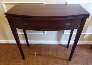 George III style Mahogany Console / Game Table for Sale in Germantown, MD