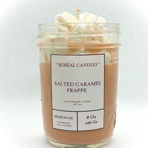 Salted Caramel Frappe / Salted Caramel Candle / salted caramel / scented candle 8oz for Sale in Raleigh, NC
