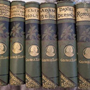 7- PIECE COLLECTION OF 1855 GEORGE ELLIOT WORKS for Sale in Olympia, WA