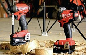 Milwaukee M18 tool combo. FUEL Drivers, with Hackzall and batteries. for Sale in Scottsdale, AZ