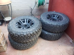Dodge jeep chevy wheels 5 lug universal for Sale in Dallas, TX