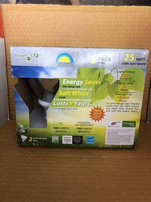 NEW Energy Saver 2 Pack Outdoor lightbulbs for Sale in Lemon Grove, CA