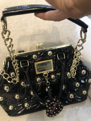 Betsey Johnson Huge Heavy Amazing Blk Leather Doc Bag for Sale in Las Vegas, NV