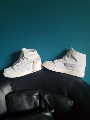 AIR JORDAN 1 OFF WHITE SIZE 9.5 NEW WITH BOX for Sale in Columbus, OH