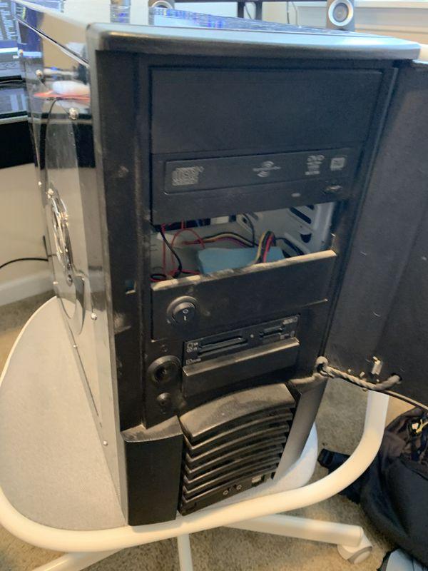 Windows 10 desktop computer