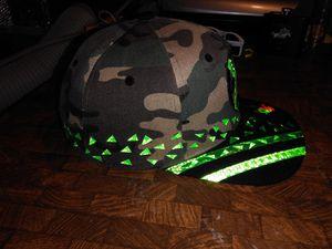 Custom one of a kind super glow camo hat. for Sale in Baldwin Park, CA