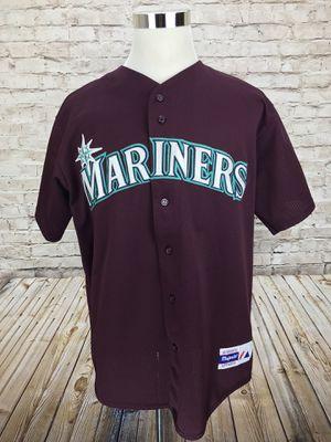 Seattle Mariners Majestic Men's XL MLB Jersey Purple Maroon Stitched for Sale in Lorton, VA