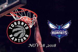 Charlotte Hornets vs Toronto Raptors - NOV 28 , 2018 for Sale in Detroit, MI