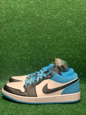 JORDAN 1 LOW LASERE BLUE SIZE 7.5 OG ALL DS BRAND NEW for Sale in Andover, MA