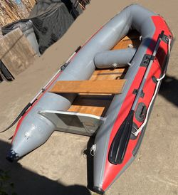 Achilles 10' Dinghy with 10 hp Honda Motor for Sale in Long Beach,  CA