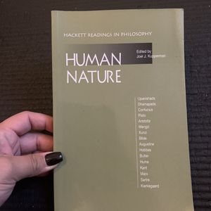 Human Nature Philosophy Book for Sale in Long Beach, CA