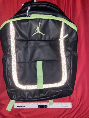 Air Jordan men's backpack elephant print like unisex men's women's boy's girl's laptop case for Sale in San Antonio, TX