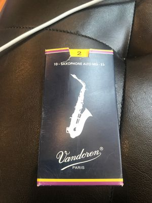Box of Alto Saxophone Reeds Sizes 2-3 for Sale in Arlington, VA