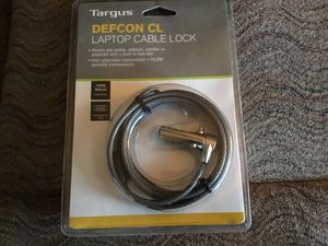 Targus DEFCON CL Laptop Cable Lock for Sale in Menasha, WI