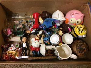 Decorations, toys, coin banks, and more for sale for Sale in Duncanville, TX