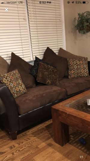 Couch and pillows for Sale in Lexington, SC