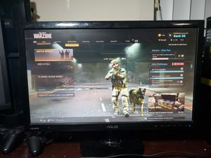 Asus 23 inch gaming monitor 1ms 60hz for Sale in Miami, FL