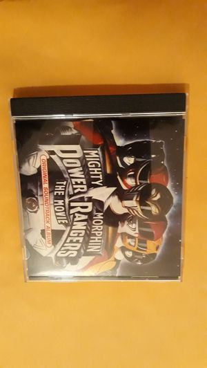 Mighty morphin power rangers the movie Soundtrack cd like mint for Sale in Weirsdale, FL