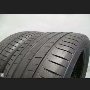 Pair 3153521 Pirelli Pzero RSC Run Flat with 85% Tread 7/32 111Y #7185 for Sale in Miami, FL