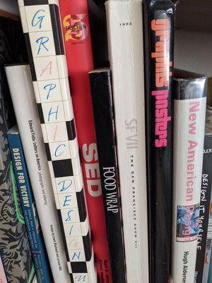 Lot of 14 design books for Sale in Sunnyvale, CA