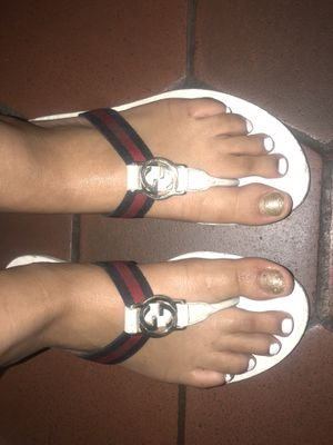 Authentic Gucci Women's Sandals for Sale in Washington, DC