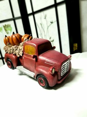 Pumpkin Patch Red Truck for Sale in Downey, CA