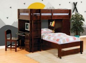 Twin/Twin Loft Bed New in Box for Sale in Margate, FL