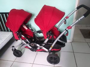 Double baby stroller by Contours for Sale in Miami, FL