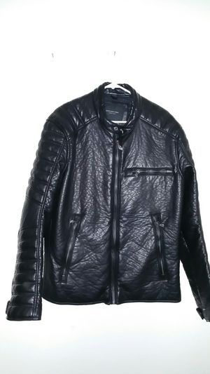 Marc Anthony faux leather jacket Xl, motorcycle jacket. for Sale in US