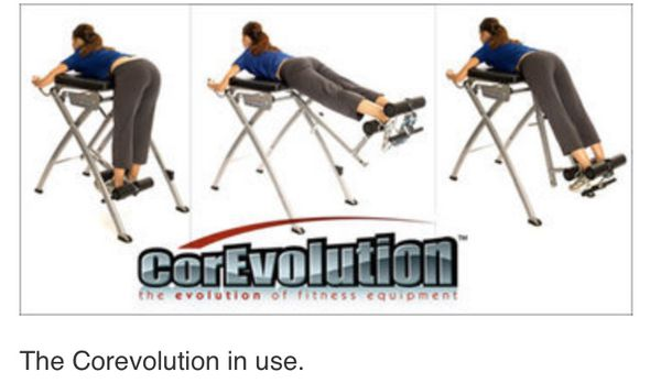 CorEvolution Folding Reverse Hyper ext machine