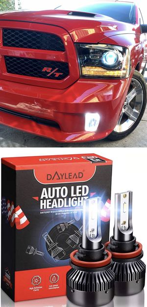 Daylead USA led headlights top quality 25$ warranty plug and play free license plate LEDs with purchase for Sale in Los Angeles, CA