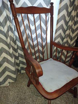 Wood rocker for Sale in Longview, TX